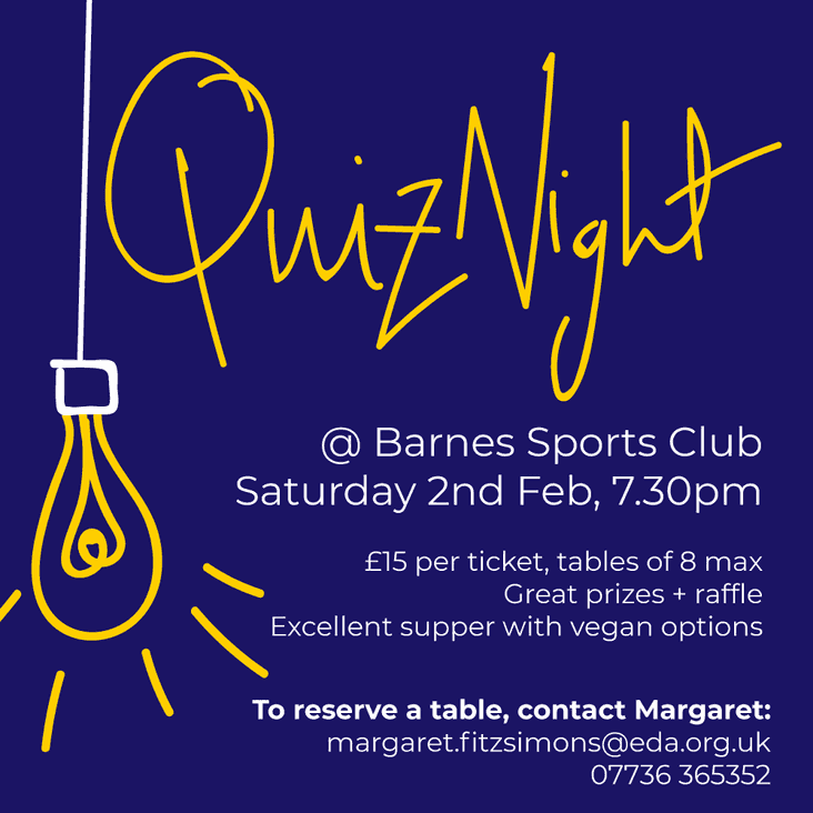 The Famous Barnes Quiz Night!