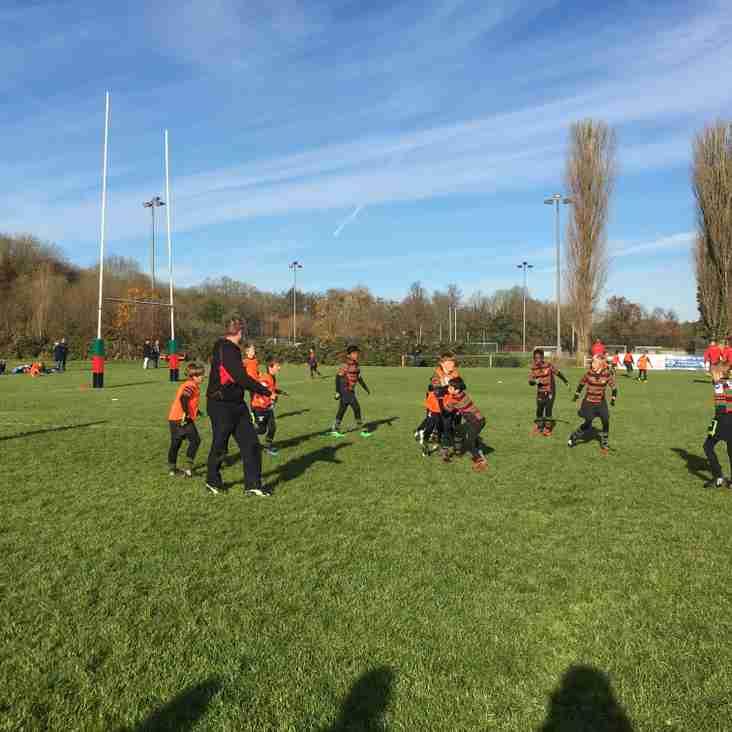 Sunday morning training session in the sunshine