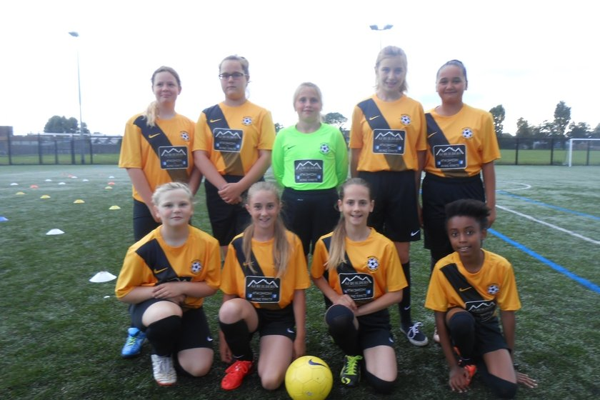 Under 12 Lionesses  lose to Bungay Town U12 Black Dogs 1 - 0