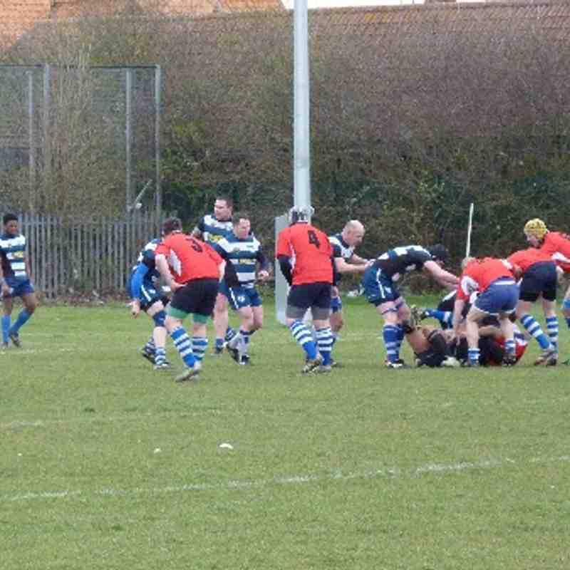 Skegness RFC 1st XV v Aylestone Saint James RFC at home M3E(N) 22nd March 2014.