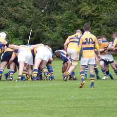 Skegness RFC 1st XV v Cleethorps RFC at home M4NE 27th September 2014.