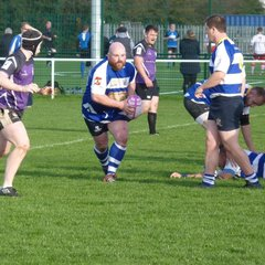 Skegness RFC 1st XV v Nottinghamians RFC at home Saturday 22nd October 2016.