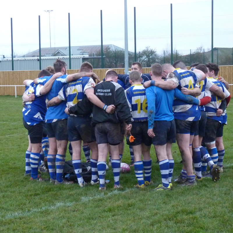 Skegness RFC 1st XV v North Hykeham RFC at home on 21st January 2017