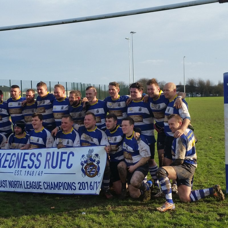 Skegness RFC 1st XV v Woodhose Giants RFC at home 4th March 2017
