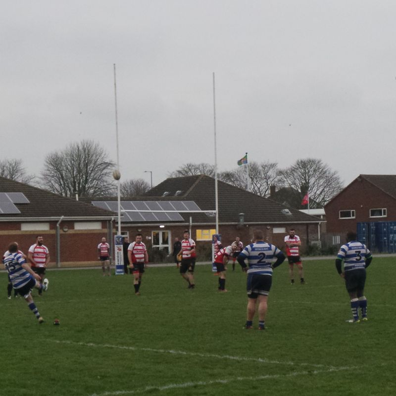 Skegness RFC1st XV v Chesterfield Panthers 15th December 2018.