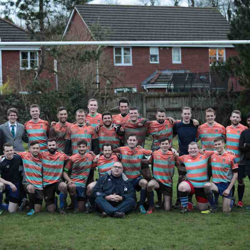 KXSRFC 4th XV v CARDIFF LIONS RFC 7th January 2017