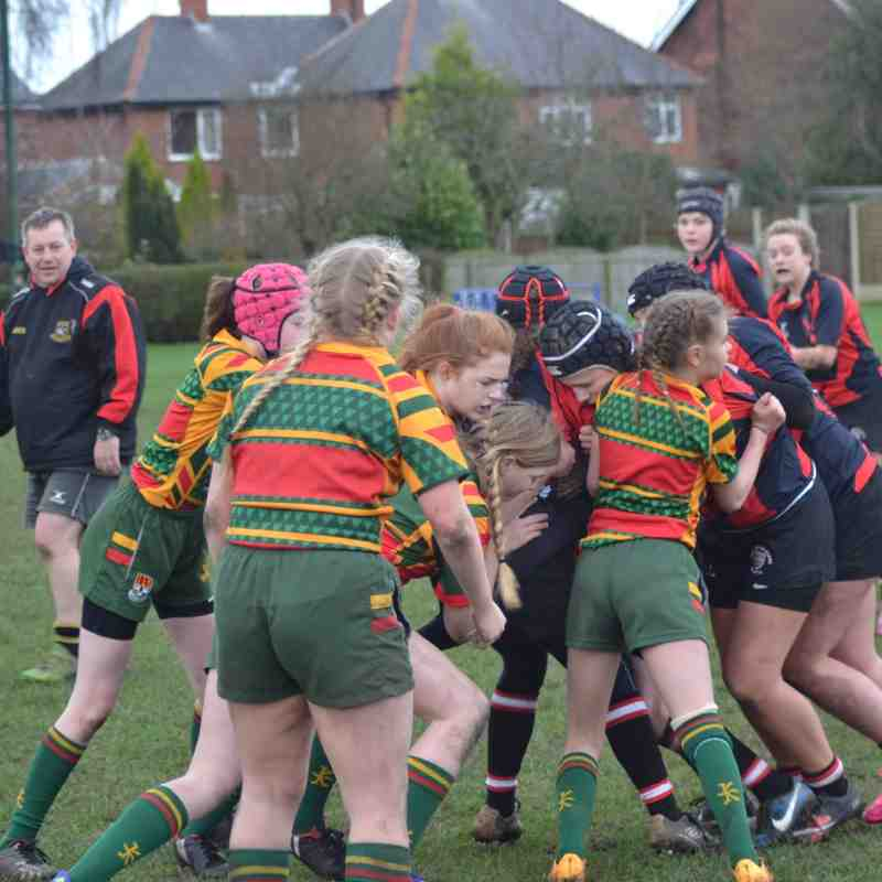 U15 girls v Old Brods 07.02.2016
