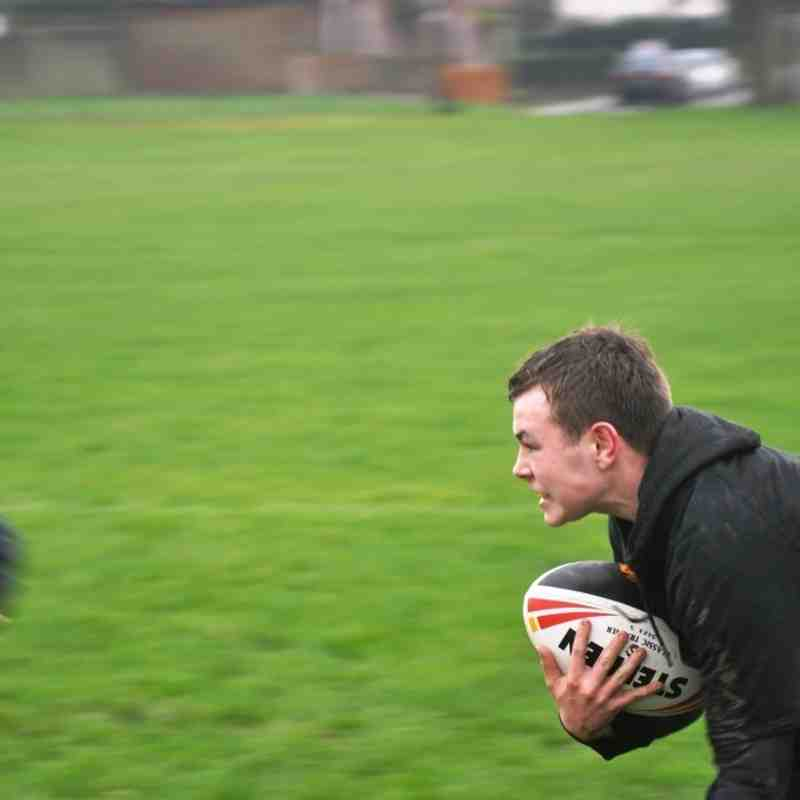 1st Pre-Season Session 13 Feb 16