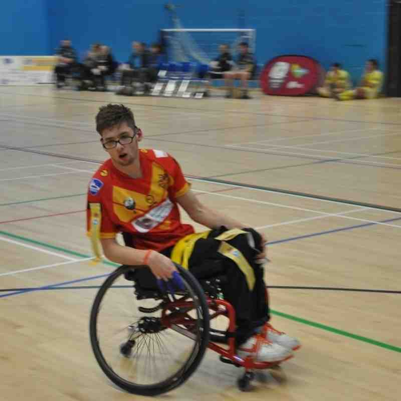 Wheelchair @ Leeds Rhinos 17 Apr 16