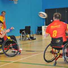Dragons Wheelchair Fight Back to Win Cliff Hanger