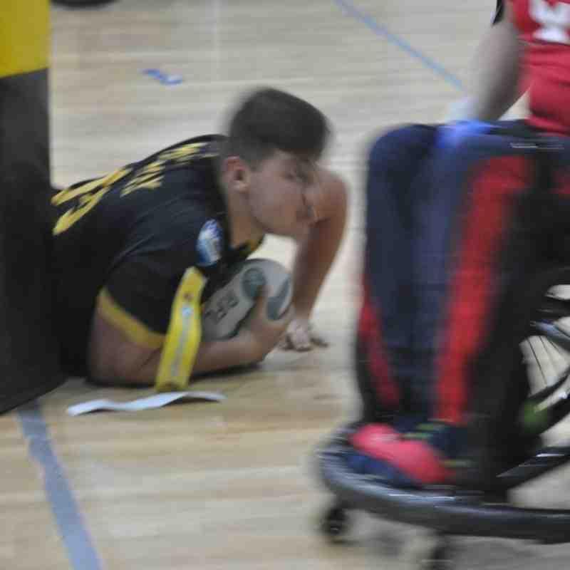 Dragons Wheelchair @ NW Crusaders 15 May 16