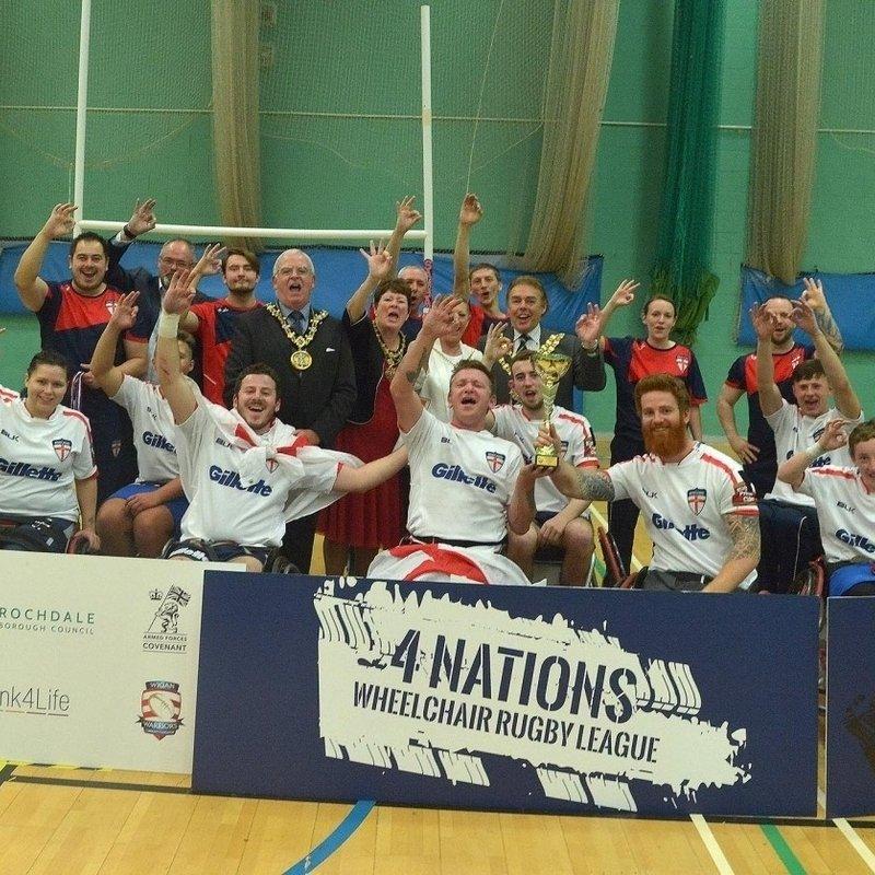 Dragons Play Their Part in England Triumph