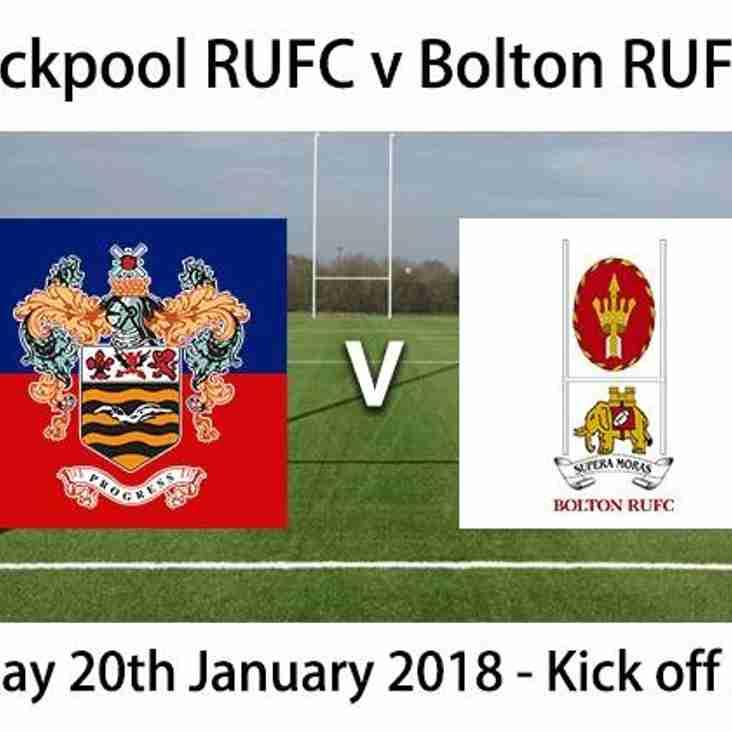 Match Preview: Blackpool vs Bolton 3rd XV