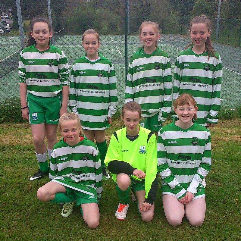 Girls U13 lose to Lucan 1 - 2