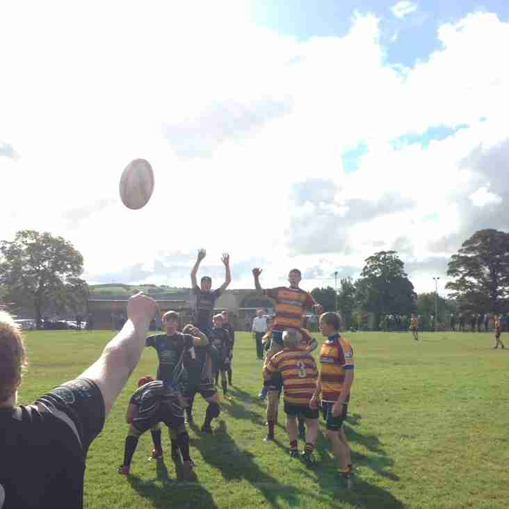 Junior Rugby on its Summer Holidays