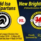 Mynydd Isa Spartans 0-1 NBV
