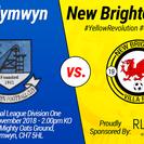 Rhydymwyn 1-1 New Brighton Villa