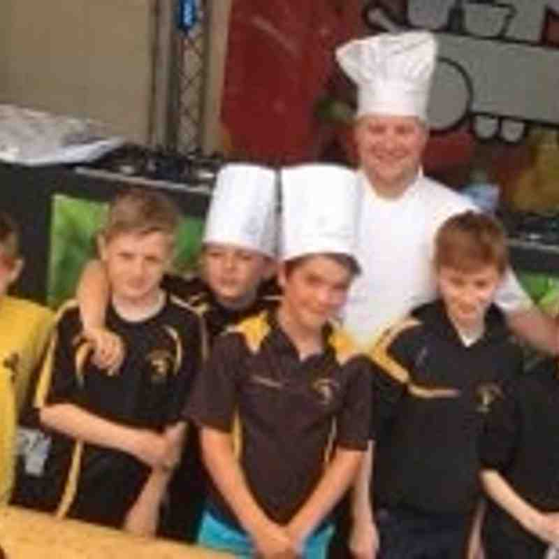 U9's at Bournemouth Food Festival