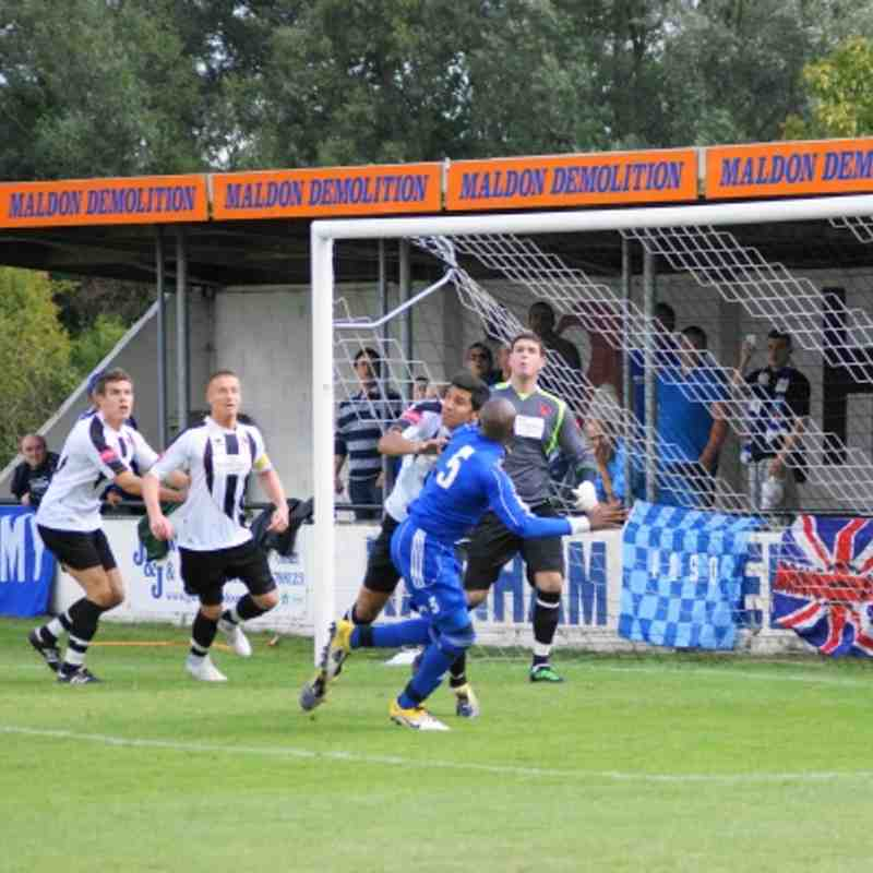 Away to Heybridge Swifts 27/08/11