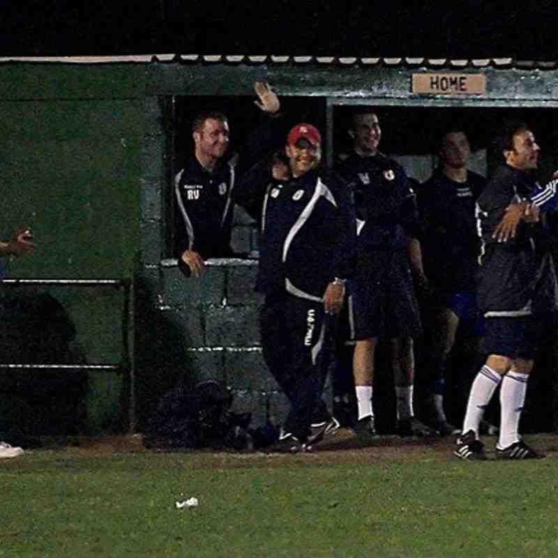 FA trophy replay.v Waltham Abbey-Wed.12/10/11.
