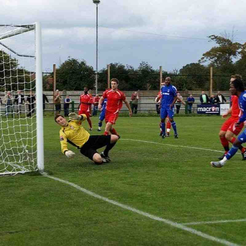V Aveley F.A. Cup Sunday 18/09/11
