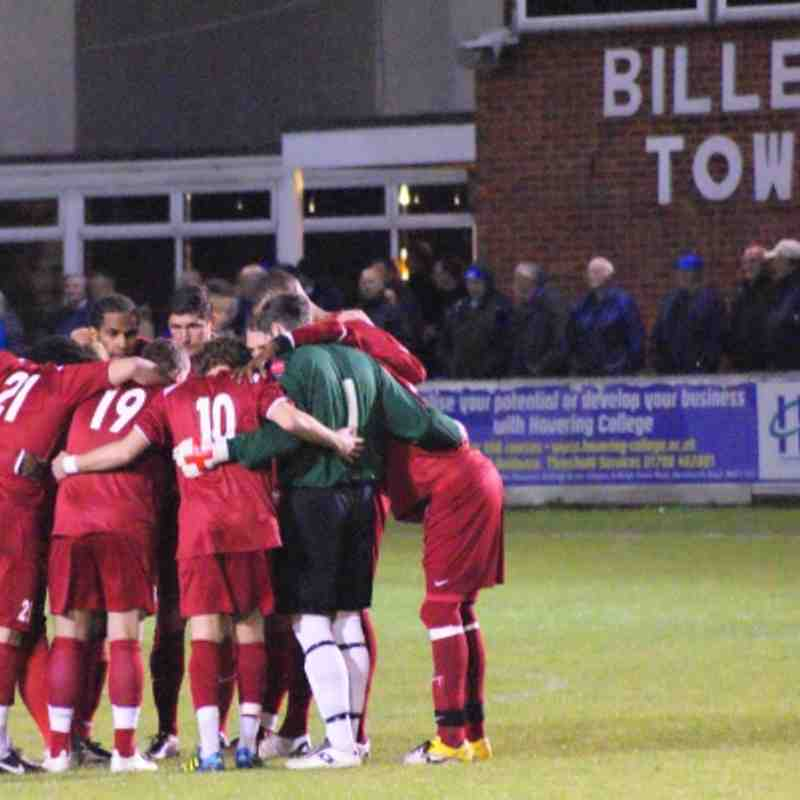 League Cup At Billericay. 18/10/11.