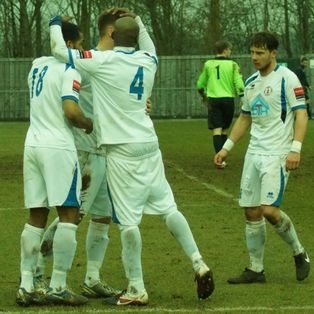 Jack West hat-trick secures 5-1 win at Ware