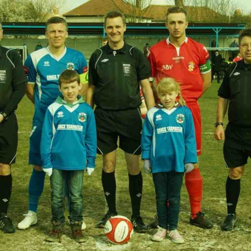 HOME TO AVELEY 1/4/13
