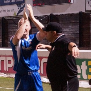 A brace for Lewis Smith narrowly edges out Grays in Essex Senior Cup Final.