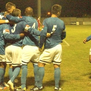 Grays win five goal thriller in opening league game at Aveley