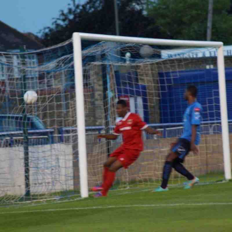 1ST GOAL AT WINGATE 20/8/13