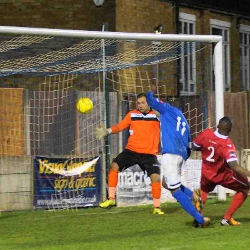 HOME V AVELEY 14/1/14 LEAGUE CUP
