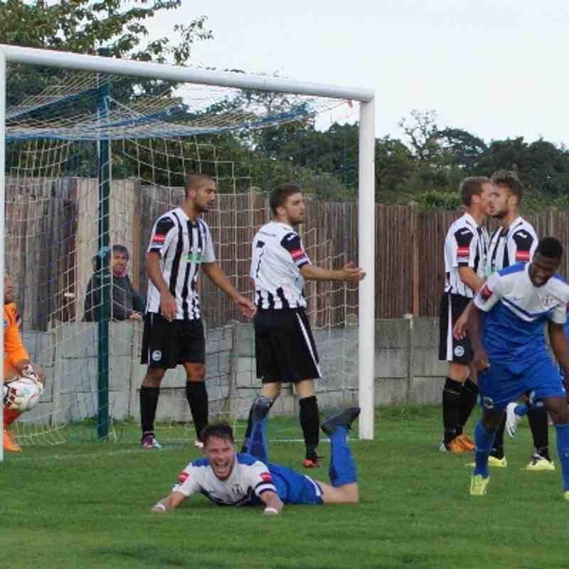 GRAYS 1 PEACEHAVEN 0......31/8/14