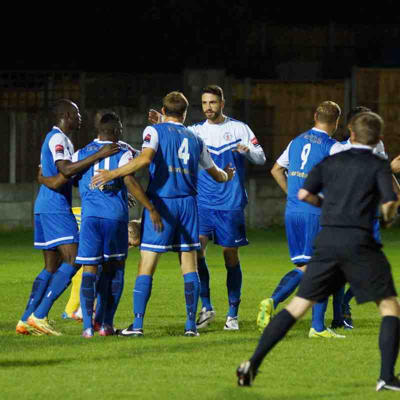 GRAYS 1 CANVEY 2