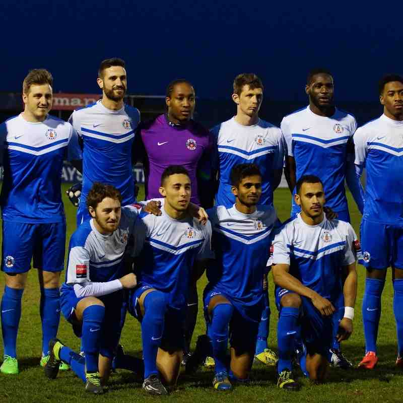 TEAM PHOTO V WINGATE 1/4/15