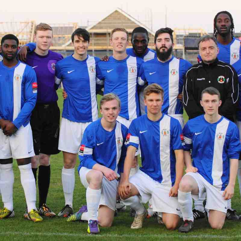 U21`S WIN LEAGUE 20/4/15