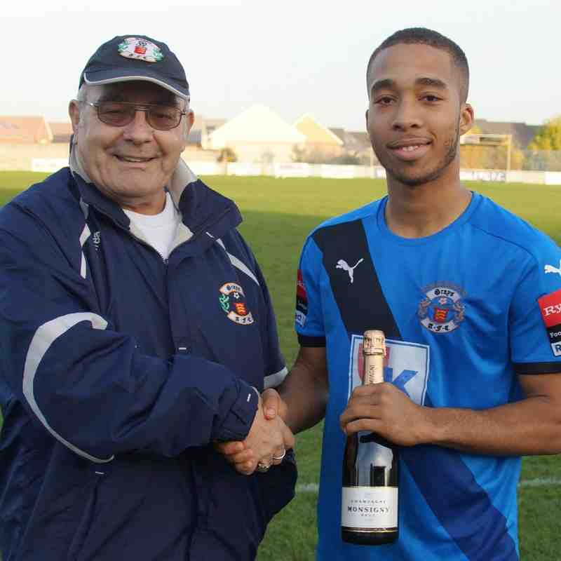 SEPTEMBER`S PLAYER OF THE MONTH - ROMAN MICHAEL-PERCIL.