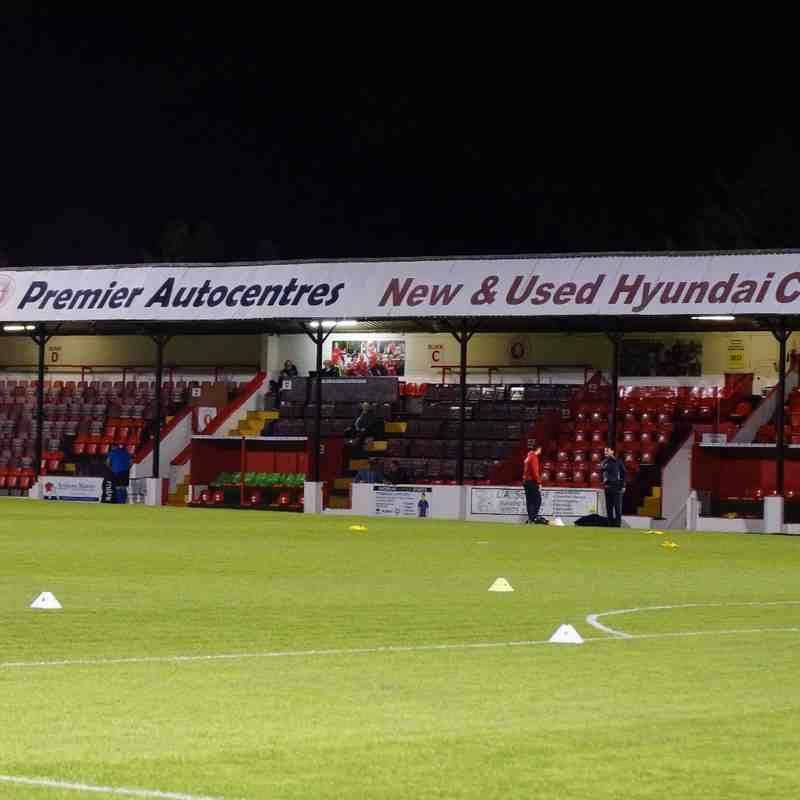 AWAY WELLING FA CUP 4th QR  REPLAY 27/10/15 LOST 0-4