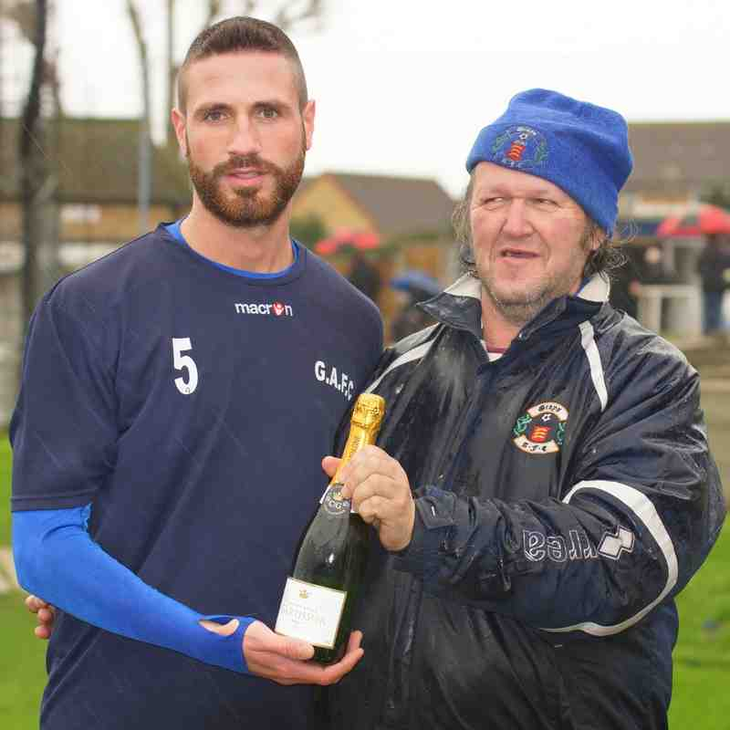 PLAYER OF THE MONTH (november) as voted by supporters - JAY LEADER