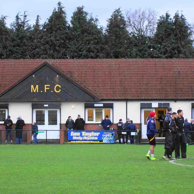 AT MERSTHAM 9/1/16 DREW 2-2