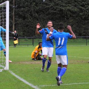 Blues Frustrated at Merstham