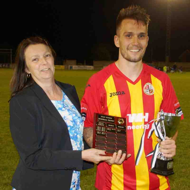 TILBURY RETAIN STAN VENESS MEMORIAL TROPHY.