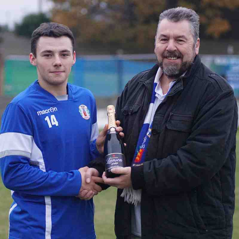 PLAYER OF THE MONTH(NOVEMBER) AS VOTED BY FANS-HARRY WATKINS