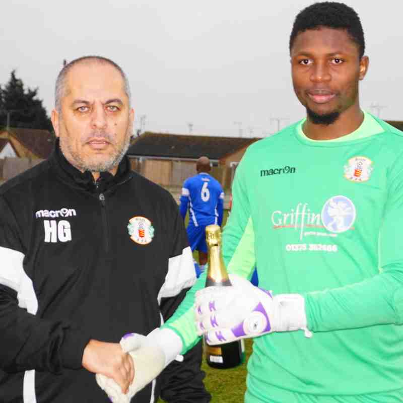 PLAYER OF THE MONTH (DECEMBER `16) AS VOTED BY FANS-AMADOU TANGARA