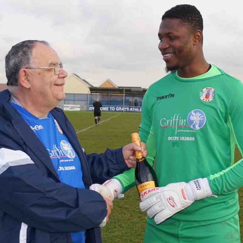 PLAYER OF THE MONTH(JANUARY) AS VOTED BY FANS-AMADOU TANGARA