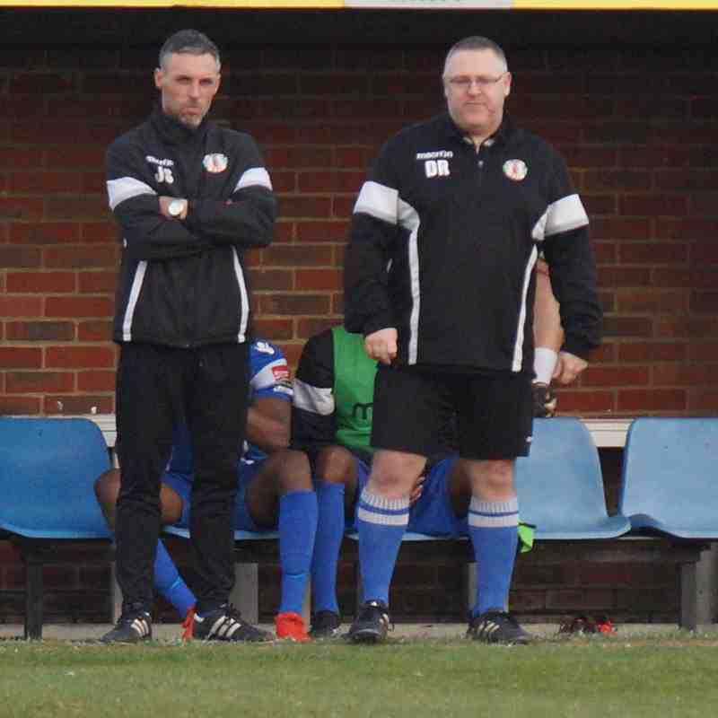 AWAY AT CANVEY 11/3/17 LOST 3-1