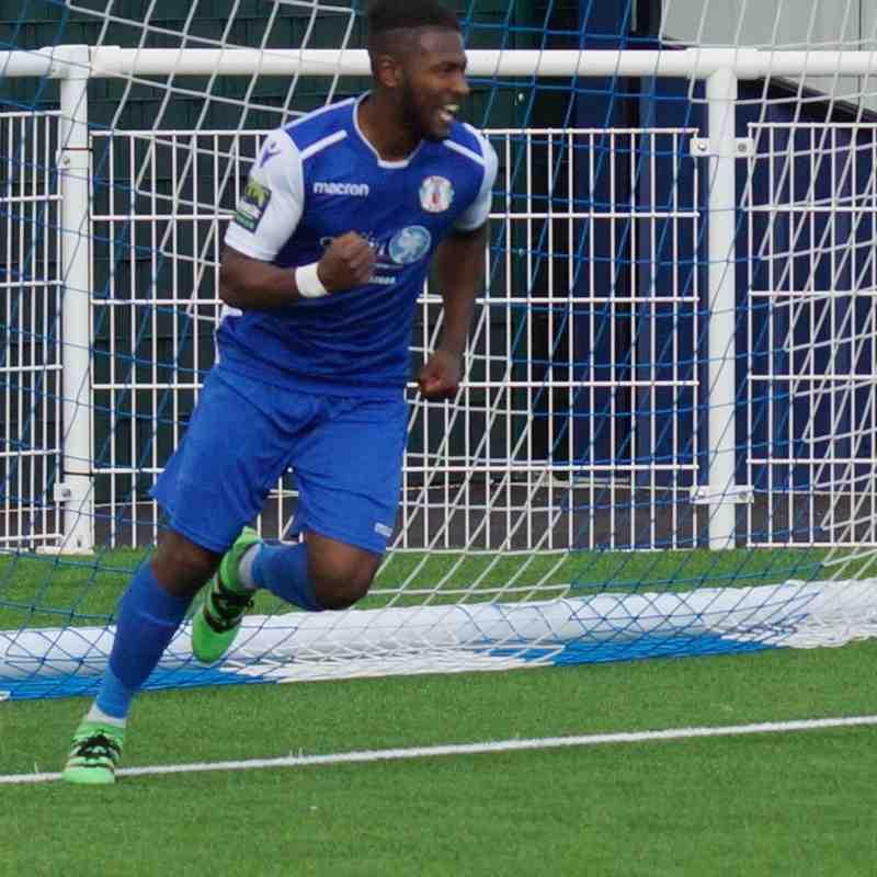 FA CUP-H TO REDBRIDGE 19/8/17  WON 2-0