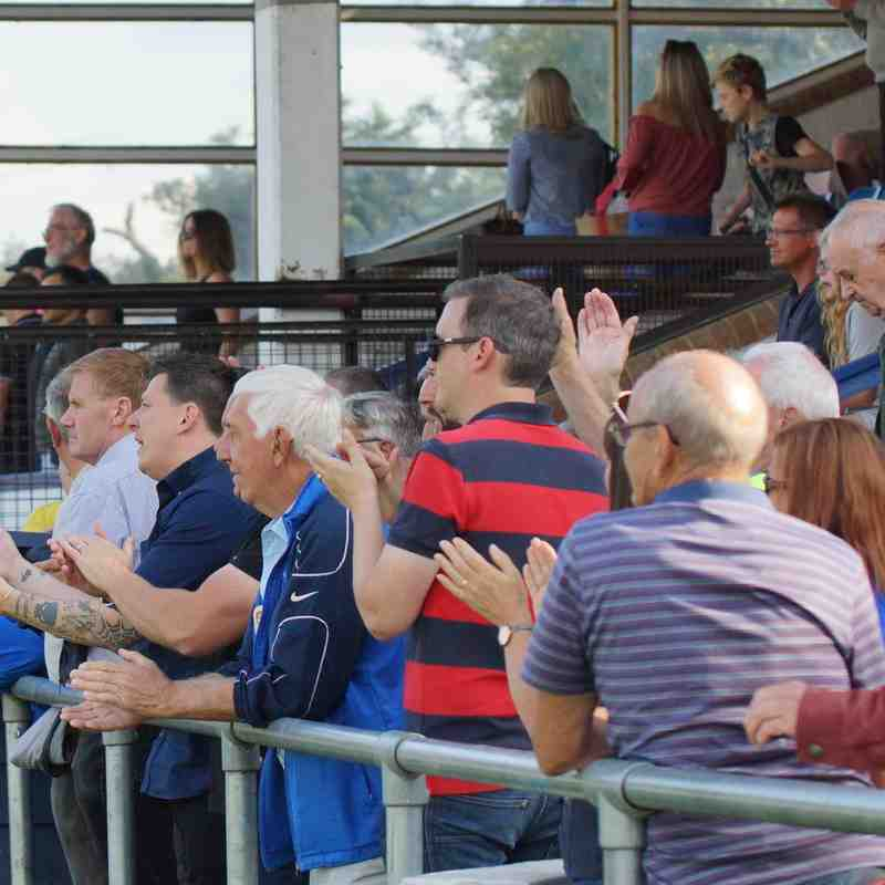 FA CUP AWAY HERTFORD 02/9/17 DREW 1-1
