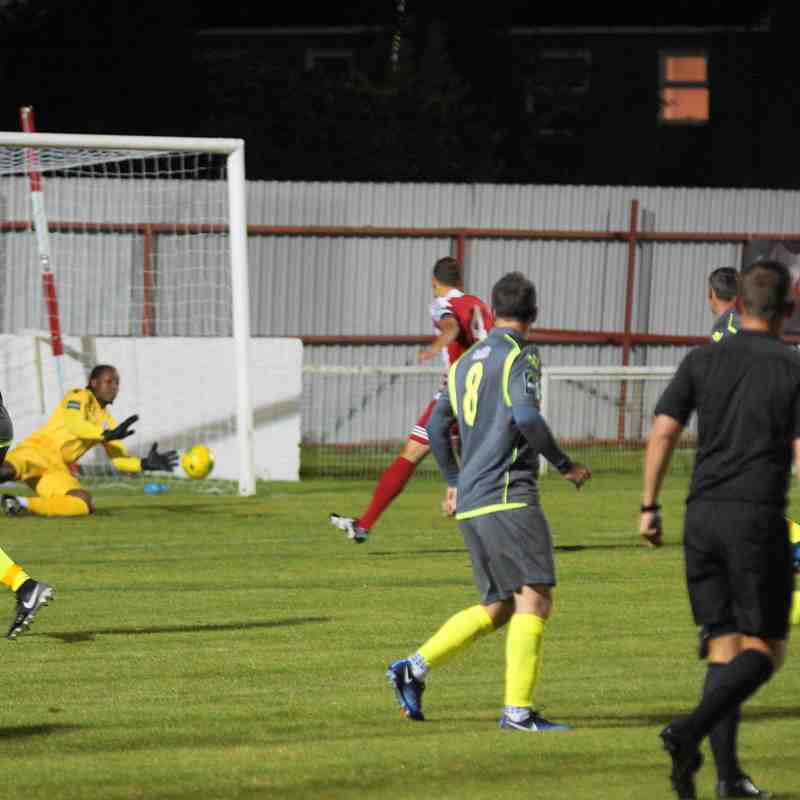 AT BOWERS AND PITSEA 12/9/17 LOST 1-0