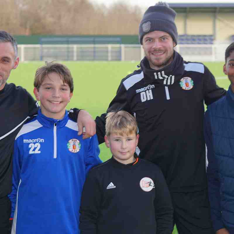 JUNIOR KEEPERS WITH DAN AND JAMIE.